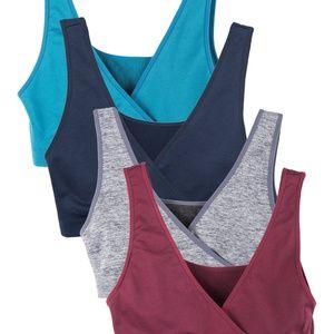 3ff114f87937f Caramel Cantina Intimates   Sleepwear - 4 Pack Caramel Cantina Sleep  Nursing Bra Winter